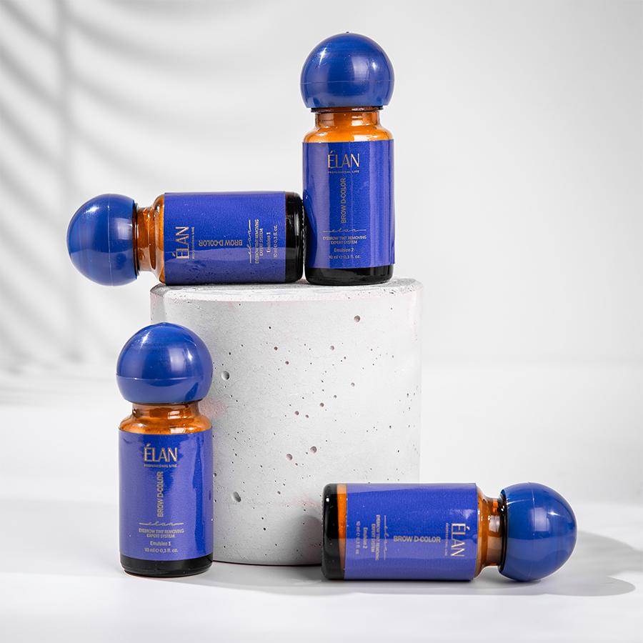 Експерт-система видалення фарби з брів «BROW D-COLOR» Емульсія 1