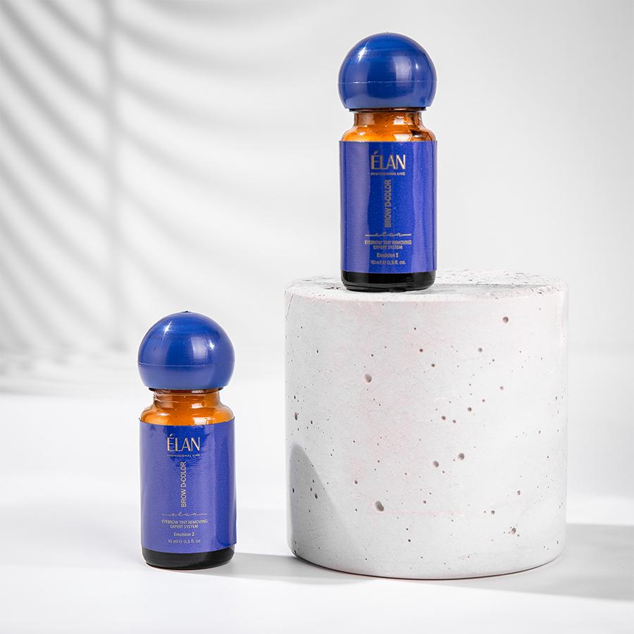 Експерт-система видалення фарби з брів «BROW D-COLOR» Емульсія 2