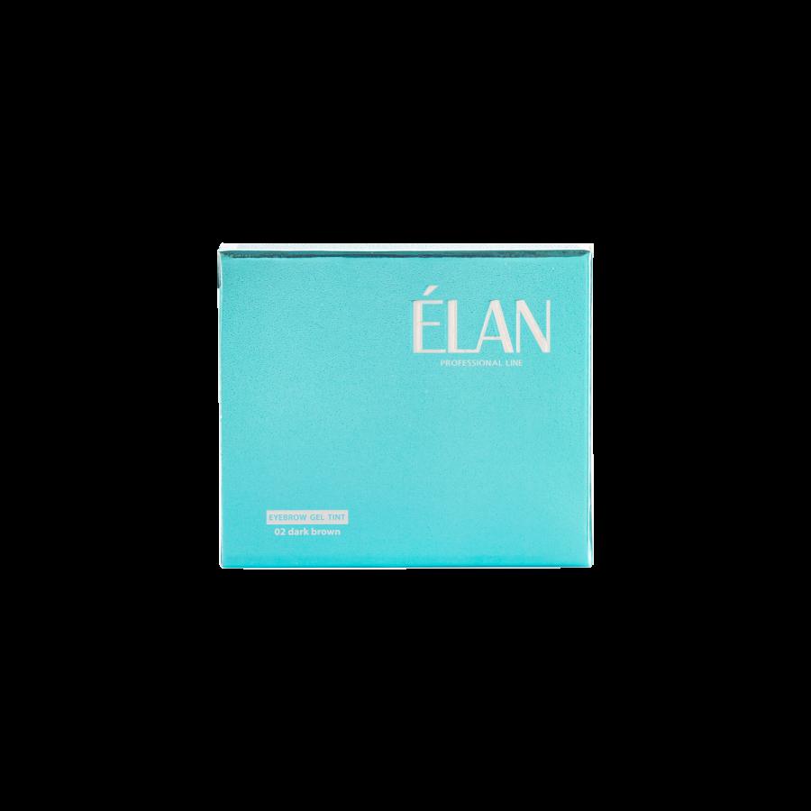 Фарба для брів ELAN відтінок 02 (Сет)