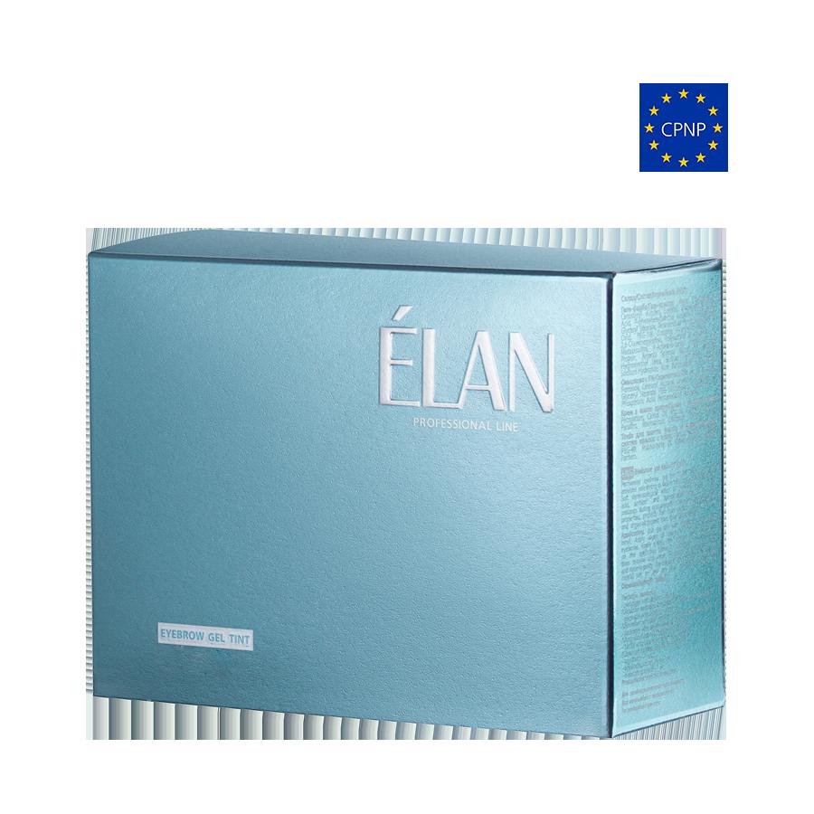 Фарба для брів ELAN комплект 03 світло-коричневий